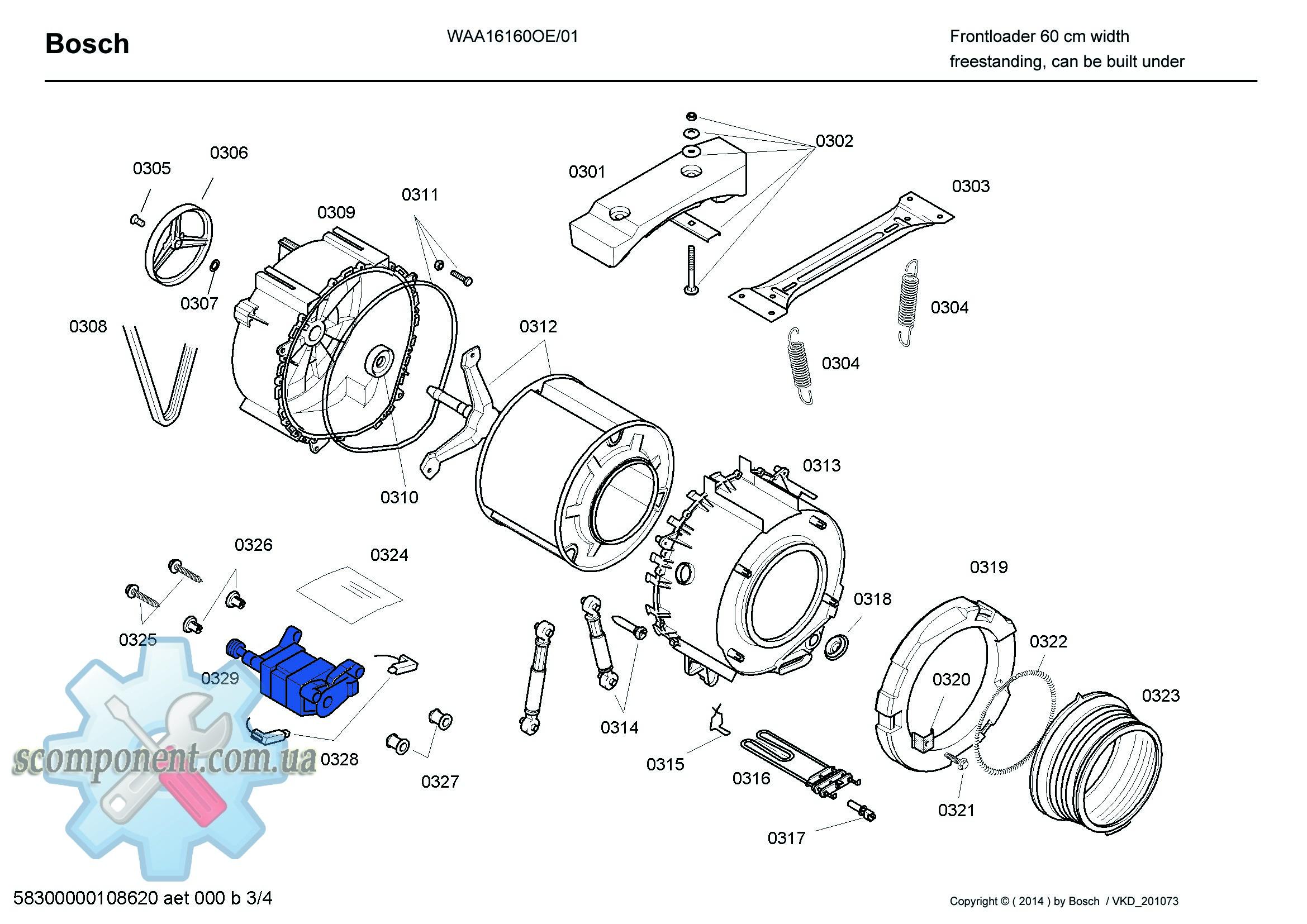 Схема стиральной машины bosch wfc 2063 oe